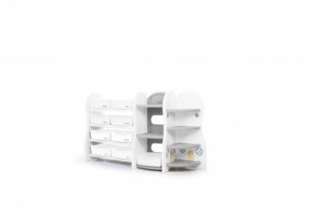 Ящики для игрушек Ifam Стеллаж для игрушек Elephant-3